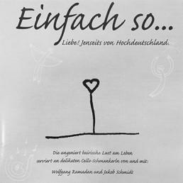 EINFACH SO…